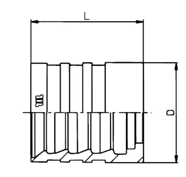 Bild för kategori Skalhylsa EN853 2SN, EN856 4SP, EN856 R12 m.fl.