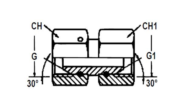 Bild för kategori Adapter BSP rörlig inv/inv