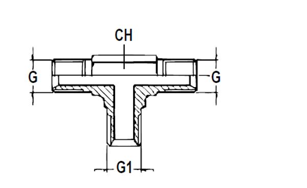 Bild för kategori T-adapter BSPP/BSPT utv