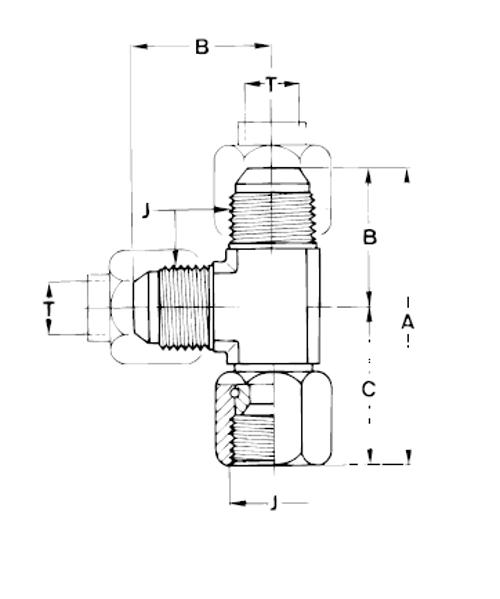 Bild för kategori JIC L-adapter svivlande mutter