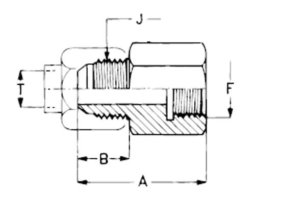 Bild för kategori Manometerkoppling JIC utv/inv