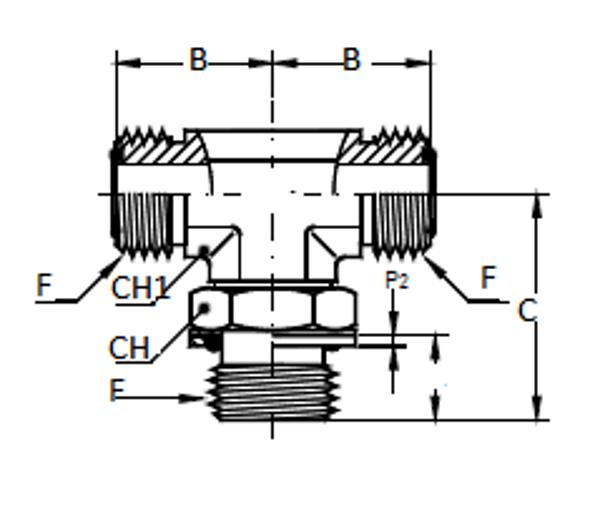 Bild för kategori ORFS T-adater utv/ Metrisk utv ställbar