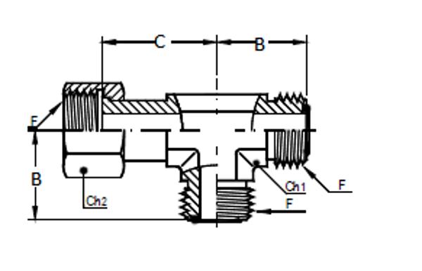 Bild för kategori ORFS L-adapter utv/inv