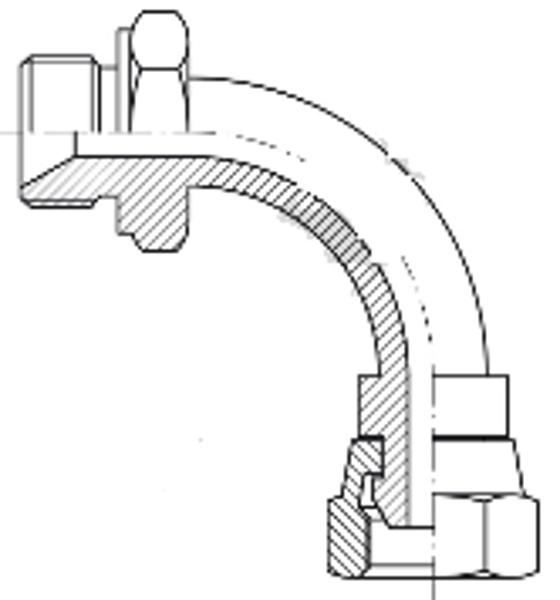 Bild för kategori BSP syrafast 90° rörböj utv/inv