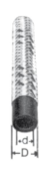 Bild för kategori Lågtrycksslang metallomflätad
