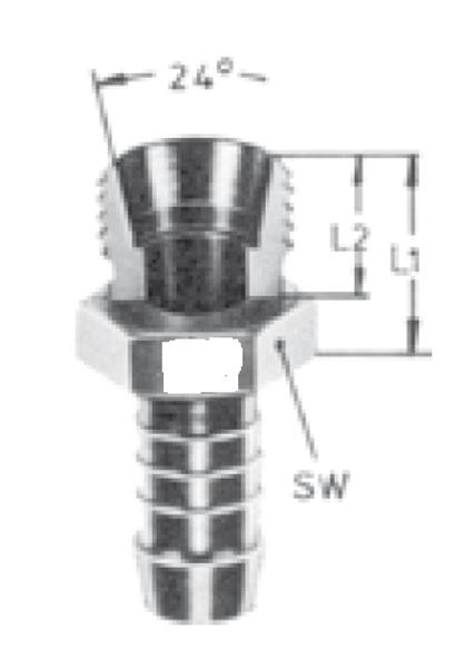 Bild för kategori Lågtryck utv metrisk serie L