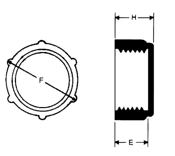 Bild för kategori Gängad plastplugg inv BSP