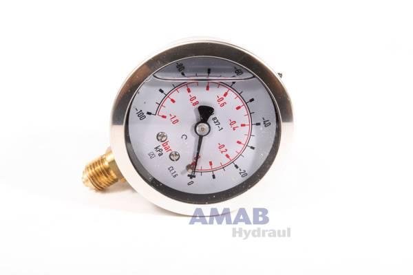 Bild för kategori Manometer 63 mm standardutförande