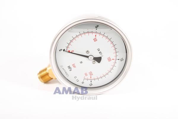 Bild för kategori Manometer 100 mm standardutförande