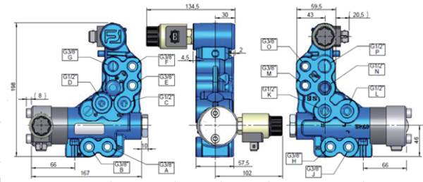 Bild för kategori Nordhydraulic/ Hydac väljarventil RV