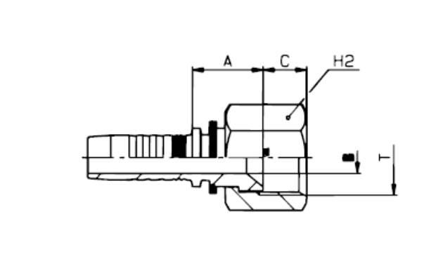 Bild för kategori JIC invändig nippel MF2000