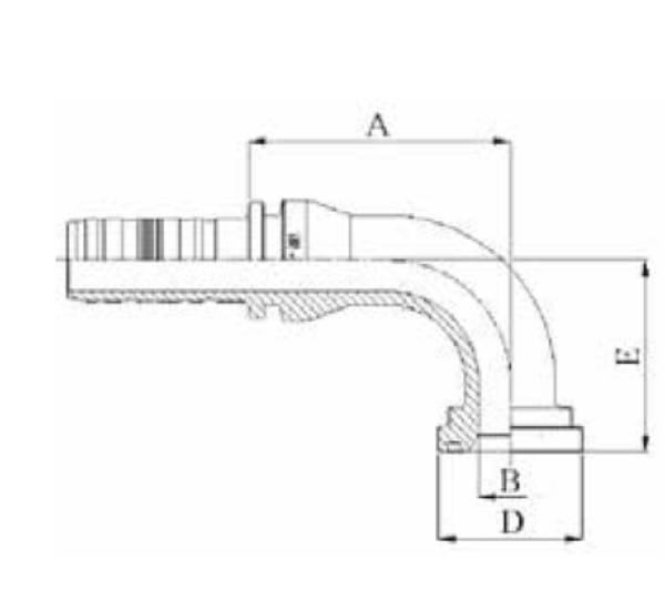 Bild för kategori Fläns 90 3000 psi Spiralfit