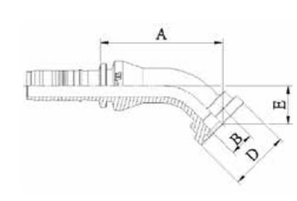 Bild för kategori Fläns 45 3000 psi Spiralfit