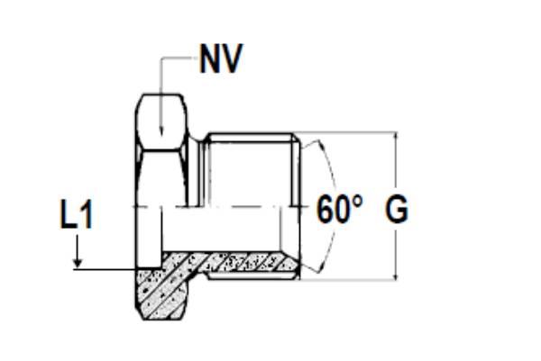 Bild för kategori Svetsnippel BSP utv