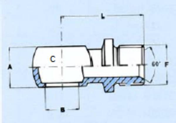 Bild för kategori Banjoadapter BSP med fläns