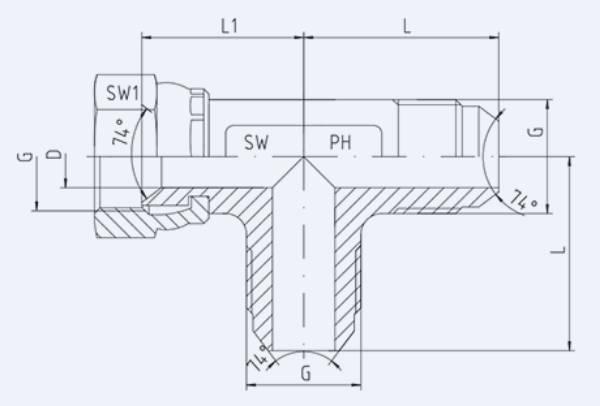Bild för kategori JIC syrafast L-adapter utv/inv