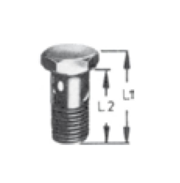 Bild för kategori Lågtryck banjobult metrisk
