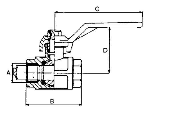 Bild för kategori Kulventil lågtryck avstängning