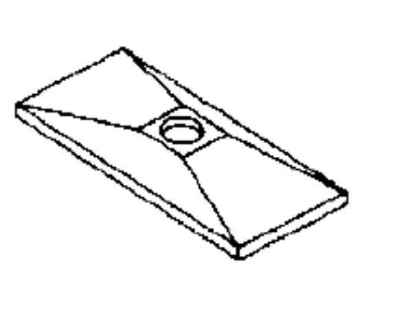 Bild för kategori Täckplatta dubbelklammer