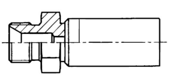 Bild för kategori Nippel utv BSP 2w
