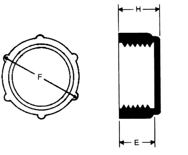 Bild för kategori Gängad plastplugg inv Metrisk