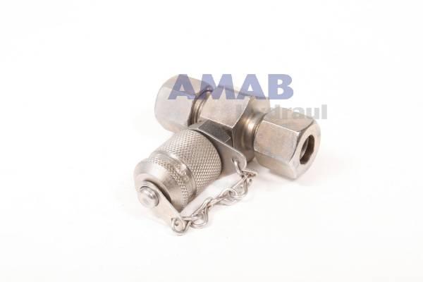 Bild för kategori Mätnippel för röranslutning metallskydd