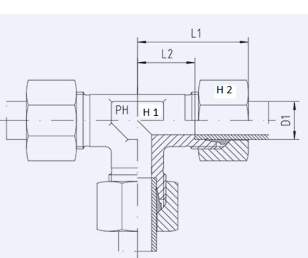 Bild för kategori T-skarvkoppling xT, T syrafast