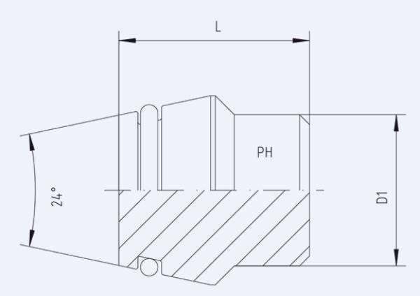 Bild för kategori Plugg STO syrafast med o-ring