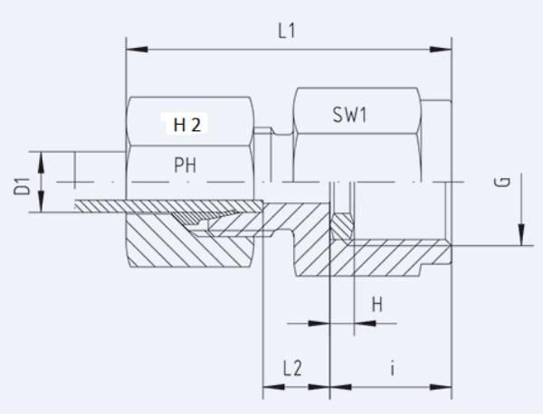 Bild för kategori Manometerkoppling MAV syrafast