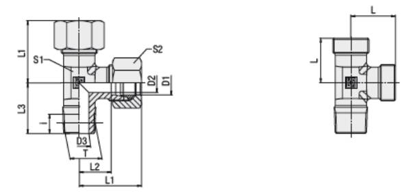 Bild för kategori L-koppling XLE, LE utv. R-gänga