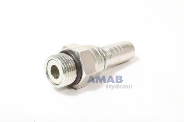 Bild för kategori Nippel rak SAE-gänga svivlande o-ring