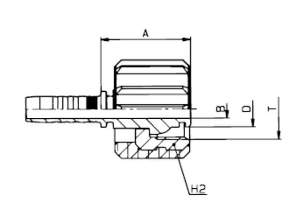 Bild för kategori Nippel inv. metrisk (Kärcher) lång