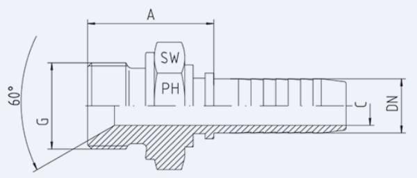 Bild för kategori BSP utv. nippel syrafast