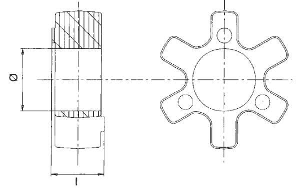 Bild för kategori Axelkoppling drivelement