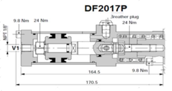 Bild för kategori Walvoil VCD-90 riktningsventil