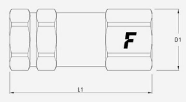 Bild för kategori Faster VUF/VUM backventil