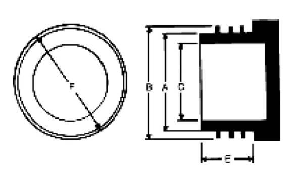 Bild för kategori Gängad plastplugg KSM metrisk