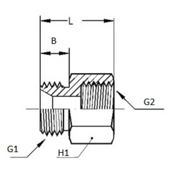Bild för kategori Adapter utv BSP/ inv NPTF