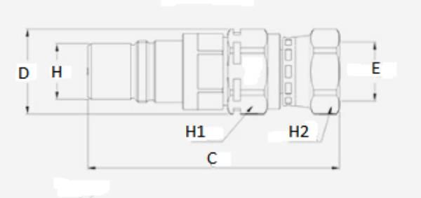 Bild för kategori Multifaster 2FNP, 3FNP hanpatron