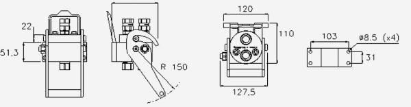 Bild för kategori Multifaster P206, P208 Hondel