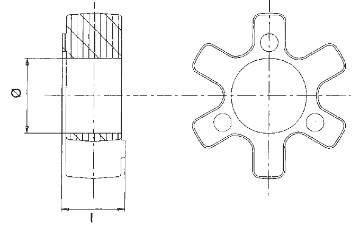 Bild på Gummikors R-103
