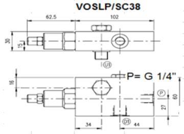 Bild på E övercent.vent VOSLP/SC/RO-38