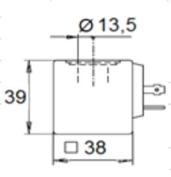 Bild på Magnet BE/CS 230V AC -4