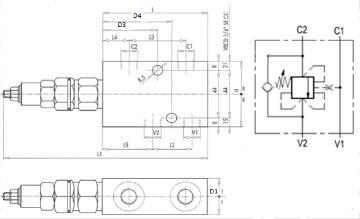 Bild på E övercenter VBCD-3/4-SE-CC