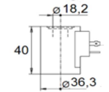 Bild på Magnet (WS08/10/12/16)-24VDC