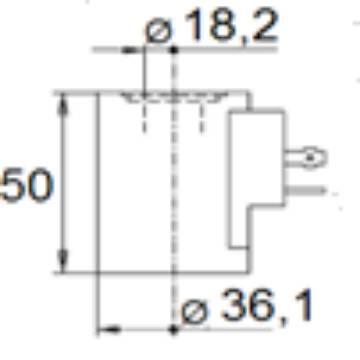 Bild på Magnet (WS10W/WK10C)-24VDC