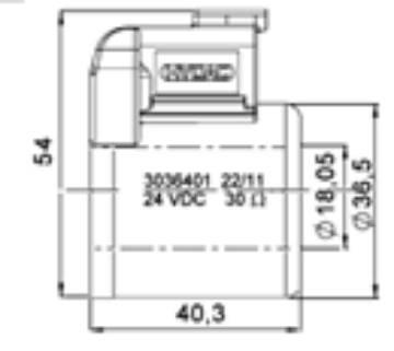 Bild på Magnet (WK08)-12VDC-Deutsch