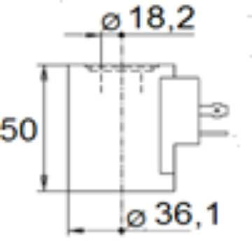 Bild på Magnet (WS10W/WK10C)-230VAC